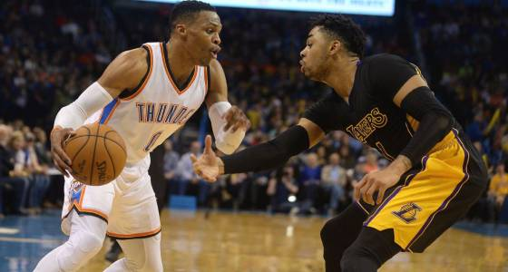 Russell Westbrook makes Thunder's new pieces look like excellent fit