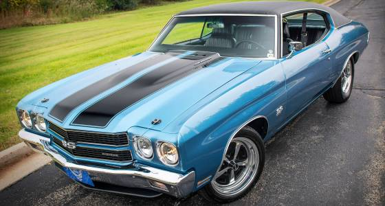 Rusty heap resurrected to mimic first '70 Chevelle