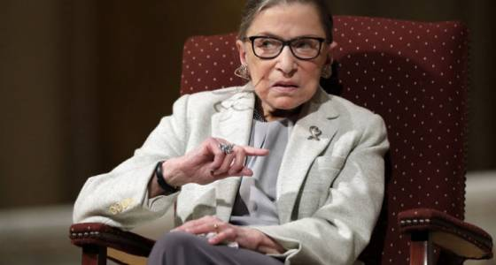 Ruth Bader Ginsburg on Trump's presidency: 'We are not experiencing the best of times'