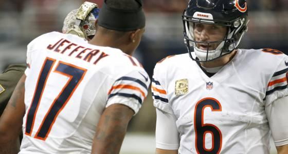 Ryan Pace: Bears wait for Alshon Jeffery to test free agency; Jay Cutler situation 'fluid'