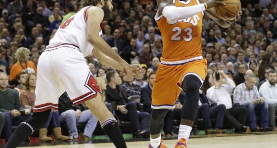 Saturday's matchup: Bulls at Cavaliers