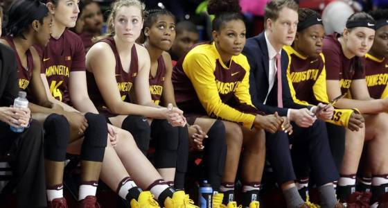 Second-ranked Maryland beats Gophers women by 33 in Big Ten regular-season finale
