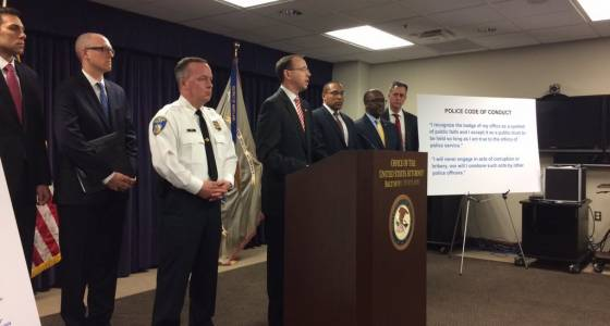 Seven Baltimore Police officers indicted on federal racketeering charges