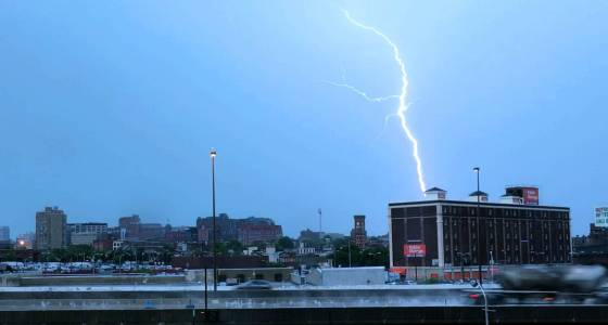 Severe storms forecast to bring damaging winds Wednesday in Maryland