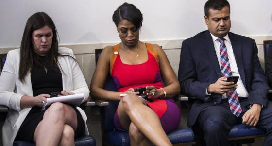 Should Sean Spicer, or any boss, be allowed to check employees' phones?