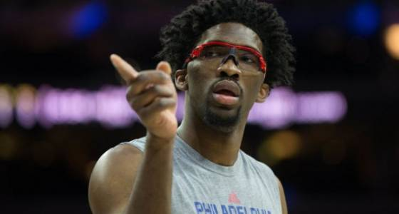 Sixers' Joel Embiid out indefinitely, will have MRI on knee