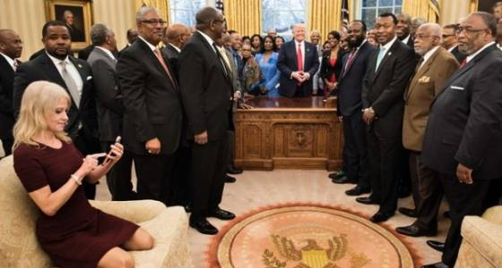 Social media: Get your feet off the couch, Kellyanne Conway