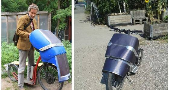 Solar powered scooter engineer needs a hundred monkeys