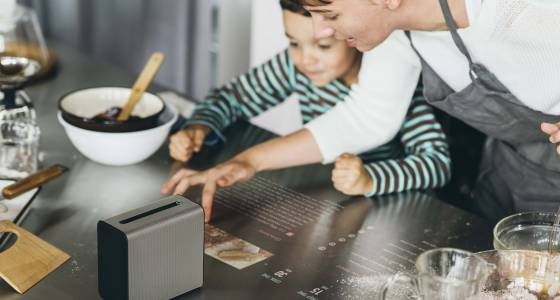 Sony Reveals Xperia Touch Projector That Turns Any Surface Into Touchscreen, But Has No U.S. Release Date