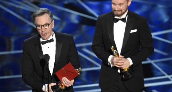 Sound engineer snaps 0 for 20 skid at Oscars with 1st statue
