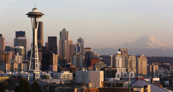 Space Needle Lightning: Watch Seattle Tower Get Struck During Heavy Storm
