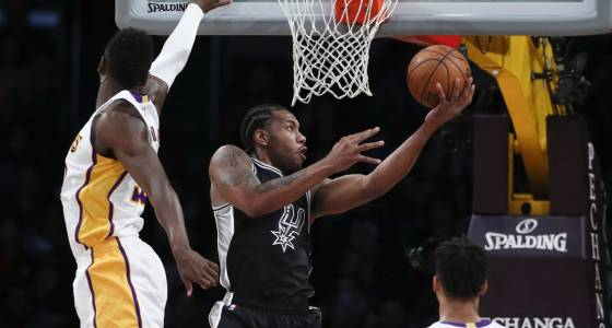 Spurs rout Lakers to finish off another successful rodeo trip