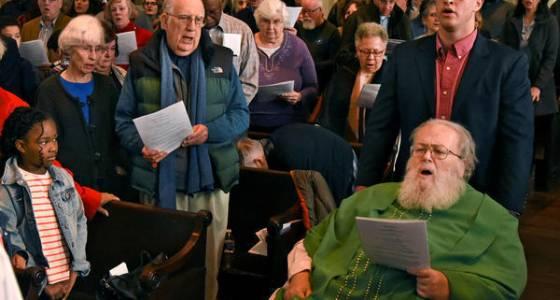 St. Vincent de Paul bids farewell as longtime pastor, the Rev. Richard 'Dick' Lawrence, retires