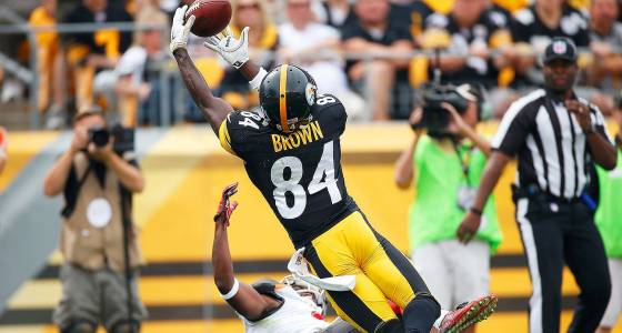 Steelers make Brown highest-paid WR in NFL