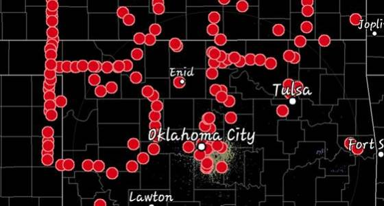 "Storm chasers honor ""Twister"" star with GPS tribute"