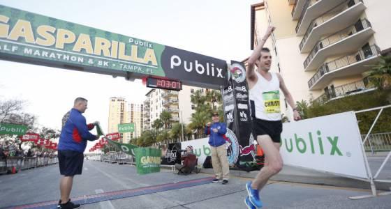 Strategy pays off for Gasparilla Distance Classic half-marathon champ Christo Landry