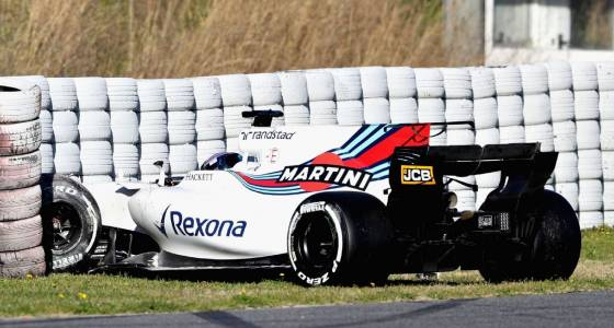 Stroll spins out of second consecutive day of testing