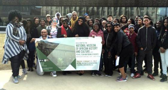 Students in Jersey City teen mentoring program inspired by Washington D.C. trip