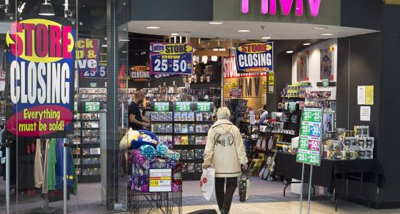 Sunrise Records to move into 70 closing HMV locations | Toronto Star