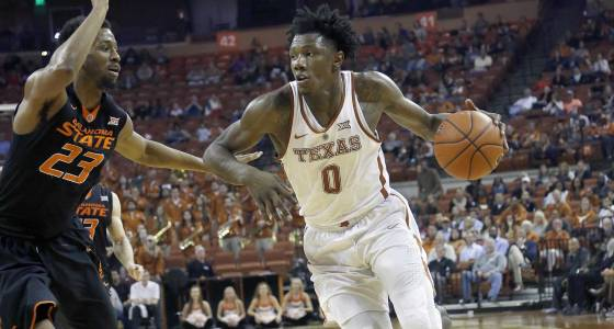 Suspended Texas guard Tevin Mack released from program