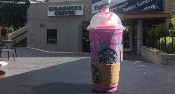 Taste test: Starbucks is now serving a Unicorn Frappuccino