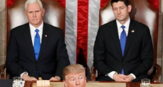 Text of Trump's address to a joint session of Congress
