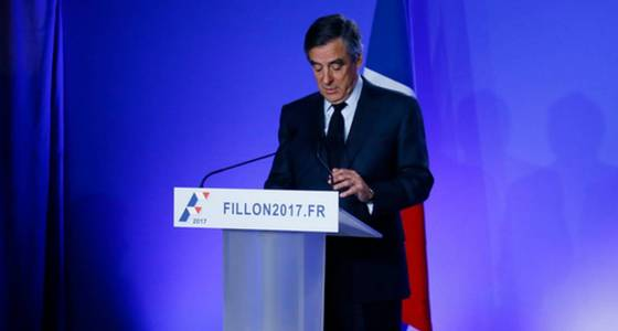 The Latest: France: Fillon refuses to withdraw from election