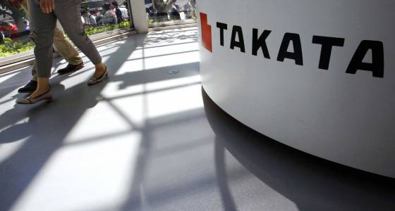 The Latest: Judge: Higher fine wouldn't help Takata victims