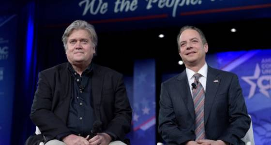 The love story of Reince Priebus and Stephen Bannon: Washington Post opinion