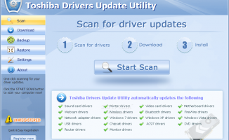 Why do we need in Toshiba drivers?