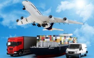 Sea cargo transportation from all over the world