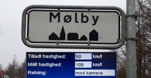 Police are appalled at the speeders: - Madness!!!!!