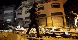 Rockets raining over Israel for killing of commander