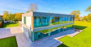 160 ft. garage and home theater: Here is Denmark's most expensive house