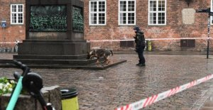 A police raid in the middle of Copenhagen: Investigating rape in front of the cathedral