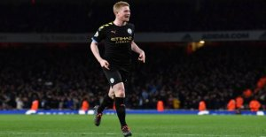 De Bruyne show at the Arsenal-smacking