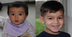 Police releases images of the abandoned children