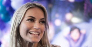 After the great drama: Amalie is enjoying again with ex-boyfriend
