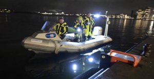 Big rescue operation in the port