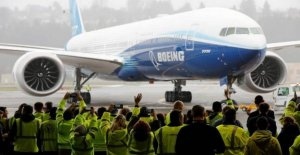 Boeing's largest newly manufactured aircraft has completed its first trip