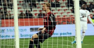 Dolberg on the stain in Nice
