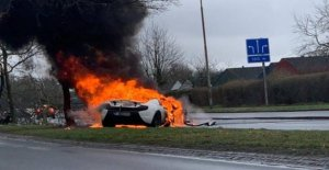 The landlord searched for the McLaren-accident: in Prison for illegal weapons
