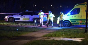 Two people hit by gunfire - a badly injured