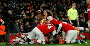 Arsenal breaking the streak after a perfect half