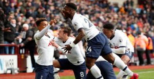 Tottenham rescued at the very end