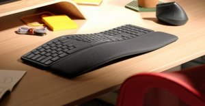 Relaxed typing: Logitech presents Ergo K860 keyboard