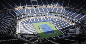 The coronavirus has not disrupted the plans of the US Open tennis