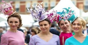 The fascinators Ascot look in the network