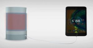 A flask of hot water to recharge your phone: the idea in China