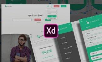 Web UI UX Design Using Adobe XD – User Experience Design
